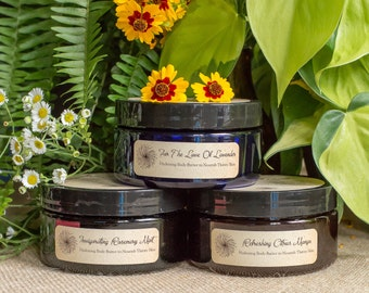 Hydrating Body Butter - Lavender, Rosemary Mint, or Citrus Mango