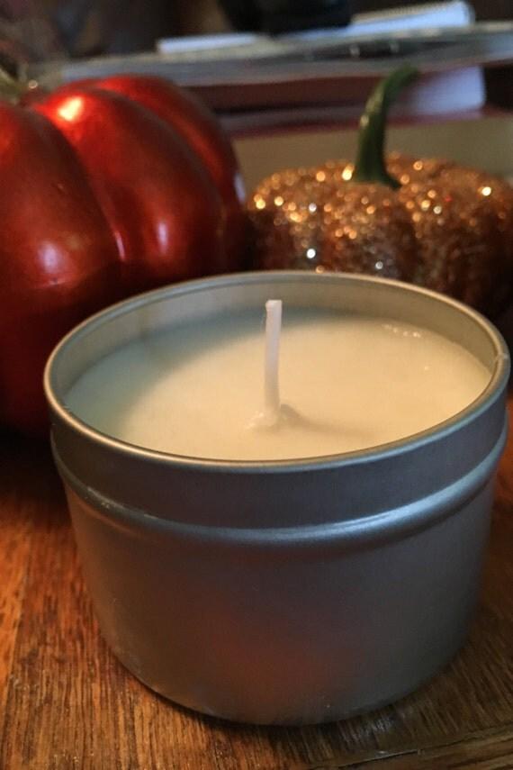 Warm Pumpkin - Soy Candle - 4 oz.