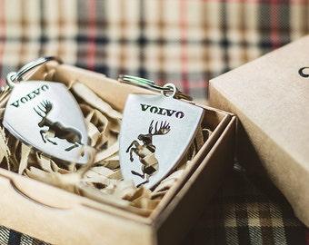 Volvo moose keychain