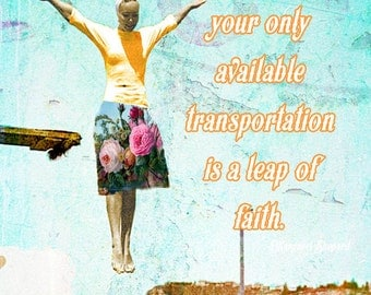 Digital Art Print, Art Print, Collage Print,Vintage Image, Collage Art,Inspirational, Faith