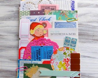 Jumbo Ephemera Paper Pack / Vintage & New / 50+ Pieces / DIY Kit / Vintage Ephemera / Paper Ephemera