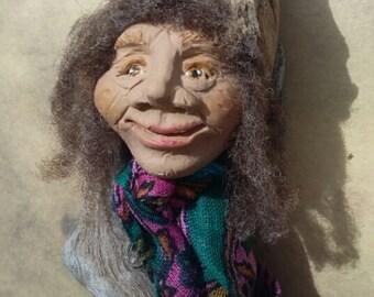 Elva - Spirit Doll - Assemblage Doll