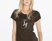 LEMMIUM for Ladies - Lemmy's LEMMIUM Chemical Element Motörhead T-Shirt (Black) - by Periodically Inspired