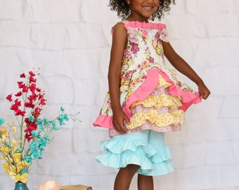 Ready to Ship Marie Antoinette Style 2 piece Size 4T Shorts Set