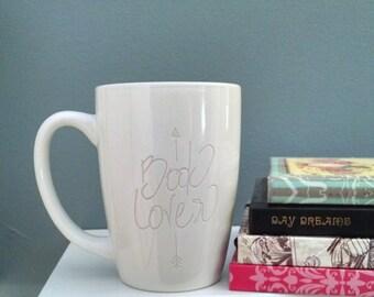 Book Lover Arrow Mug