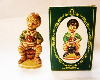 Wade Figurine Little Jack Horner Wade Nursery Rhyme Figurines Large Wade Whimsies Made in England with Box