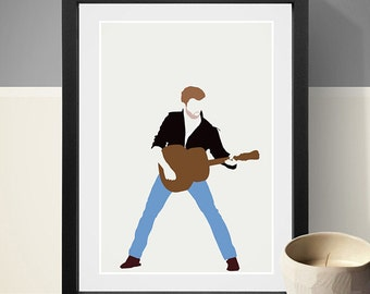 George Michael Poster, Music Poster, Music Print