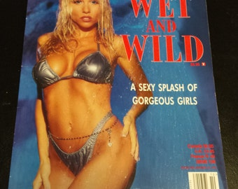 Vintage Playboy's Wet and Wild Book 1996