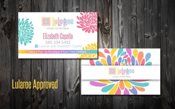 Lularoe business cards by mommyplaytime on etsy for Etsy lularoe business cards