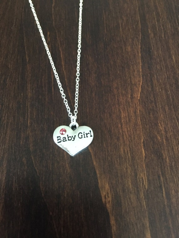 Gift For New Mom Baby Girl Necklace Baby Girl Jewelry Baby