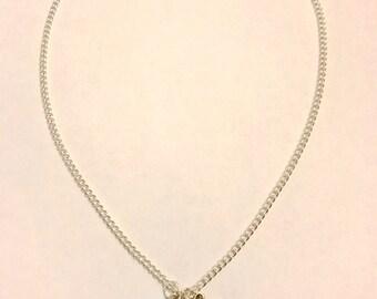 Aladdin Genie Princess Jasmine Inspired Gold Lamp Charm Necklace