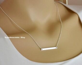 Bar necklace, gold bar necklace , bar necklaces, silver bar necklaces, necklace bar, bar pendant necklace, pendant, geometric necklace