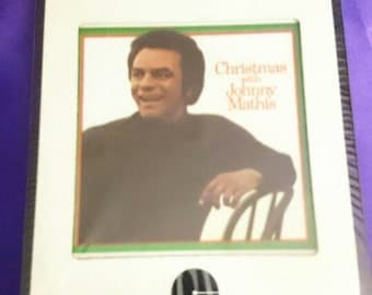 Vintage  Christmas With Johnny Mathis 8 Track Tape Unopened
