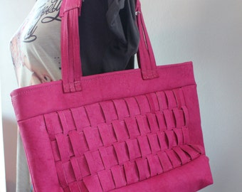 The Amore Pink tote bag