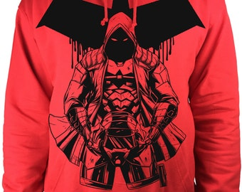 Red Hood hoodie DC Comic sweat best batman red hood top