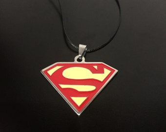 Superman Medallion Novelty Necklace