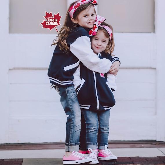 Personalized Kids Varsity Jacket Custom Letterman Jacket