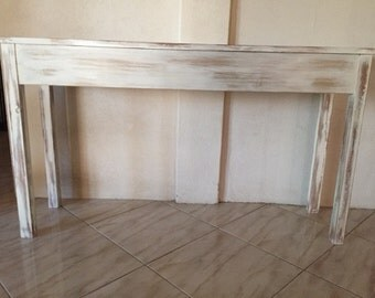 Shabby Chic Console Table   REDUCED