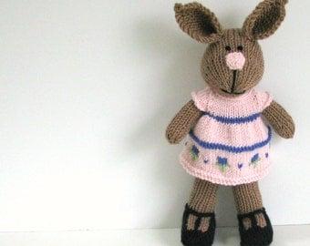 Kids Rabbit, Bunny Doll, Toy Bunny, Knit Rabbit, Handmade Bunny Toy, Knit Toy, Knit Stuff Bunny, Plush Doll, Kids Toy Child Toy, Bunny Kids