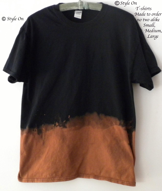Black t shirt grunge - Details This Is A Dip Dye Tee Shirt Black