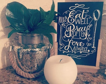 Personalized Chalkboard Signs