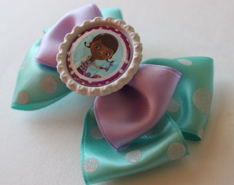 Toy Doc McStuffins Inspired Bow