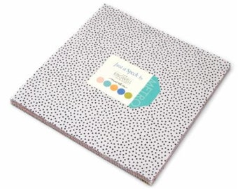Just A Speck layer cake 10 inch squares for Moda Fabric by Jen Kingwell