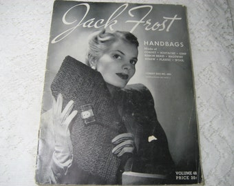 Jack Frost Handbags Pattern Book Vol 48 from 1940s