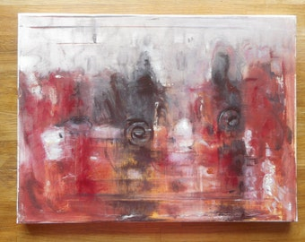"Original Oil Painting by Nalan Laluk: ""Trainspotting"""