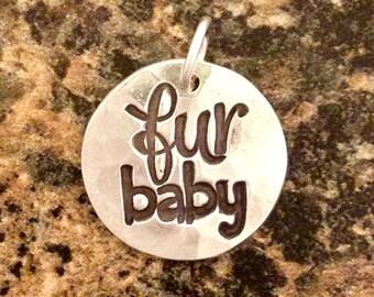 Fur Baby Pendant, PMC Fine Silver
