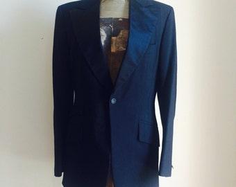 Vintage TUXEDO Blazer by LORD WEST   Size 36R