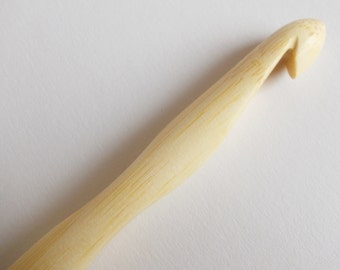 bamboo crochet hook from hoooked, 12mm