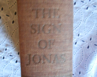 The Sign Of Jonas by Thomas Merton Hardcover 1953. Cool vintage book