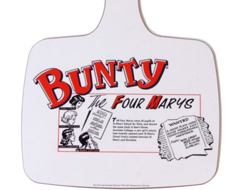 Bunty comic - chopping board