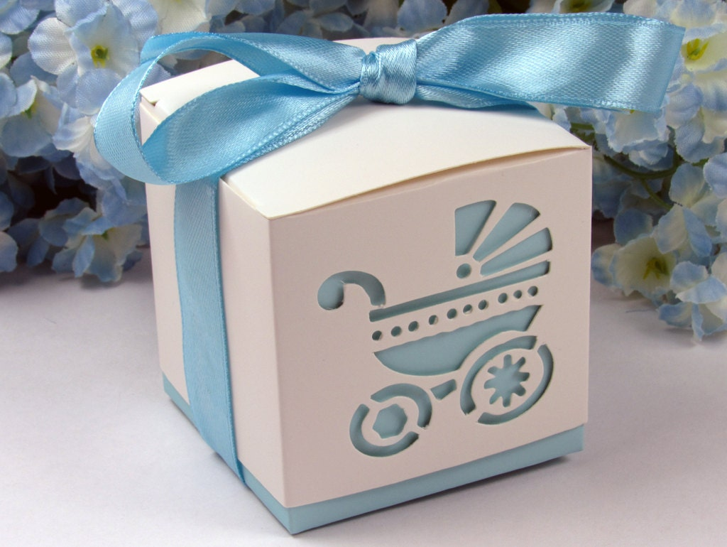 Favor Gift Boxes: Boy Baby Shower Favor Boxes Baby Boy Shower Favor Boxes