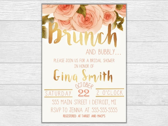Bridal shower, bridal shower invite, bridal shower invitation, wedding, wedding invitation, printable invite, digital downlad