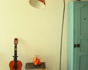 Lampada a stelo piantana in ceramica fatta a mano