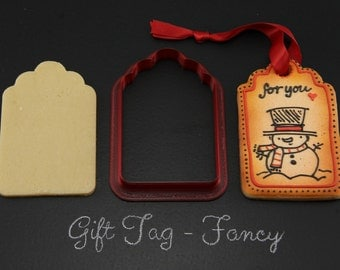 Fancy Gift Tag Cookie Cutter
