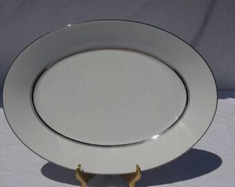 "Noritake ""Galaxy"" pattern serving platter, discontinued, 6527"