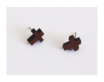 Wooden Studs - Cross