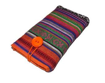 Tribal LG V10 case Lg G4 Pouch Fabric Lg G3 cover  Fabric case LG cover LG K10 -  Lg cell phone pouch