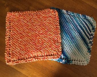 Hand Knit Dishcloths