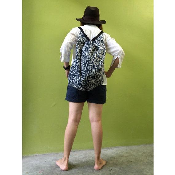 Cotton Bag, Cross body Bag, Sling Bag, Hip Bag, Thai Bag, Shoulder Bag, Boho Hippie Bag (B 5)
