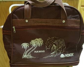 Hawaii luggage surfer dude