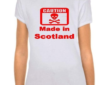 Made in Scotland t shirt