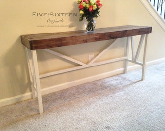 Custom Console, Buffet or Entryway Table