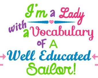 Vocabulary of a Sailor