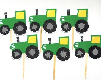 Tractor Cake Topper Etsy
