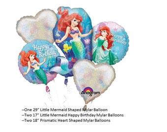 Little Mermaid Balloon Set