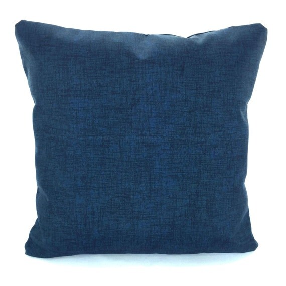 OUTDOOR Navy Blue Pillow Covers Throw Pillows Cushions Navy